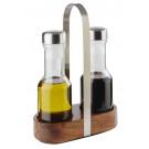 Essig- & Öl-Menage WOOD