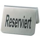 """2 Tischaufsteller """"Reserviert"""""""
